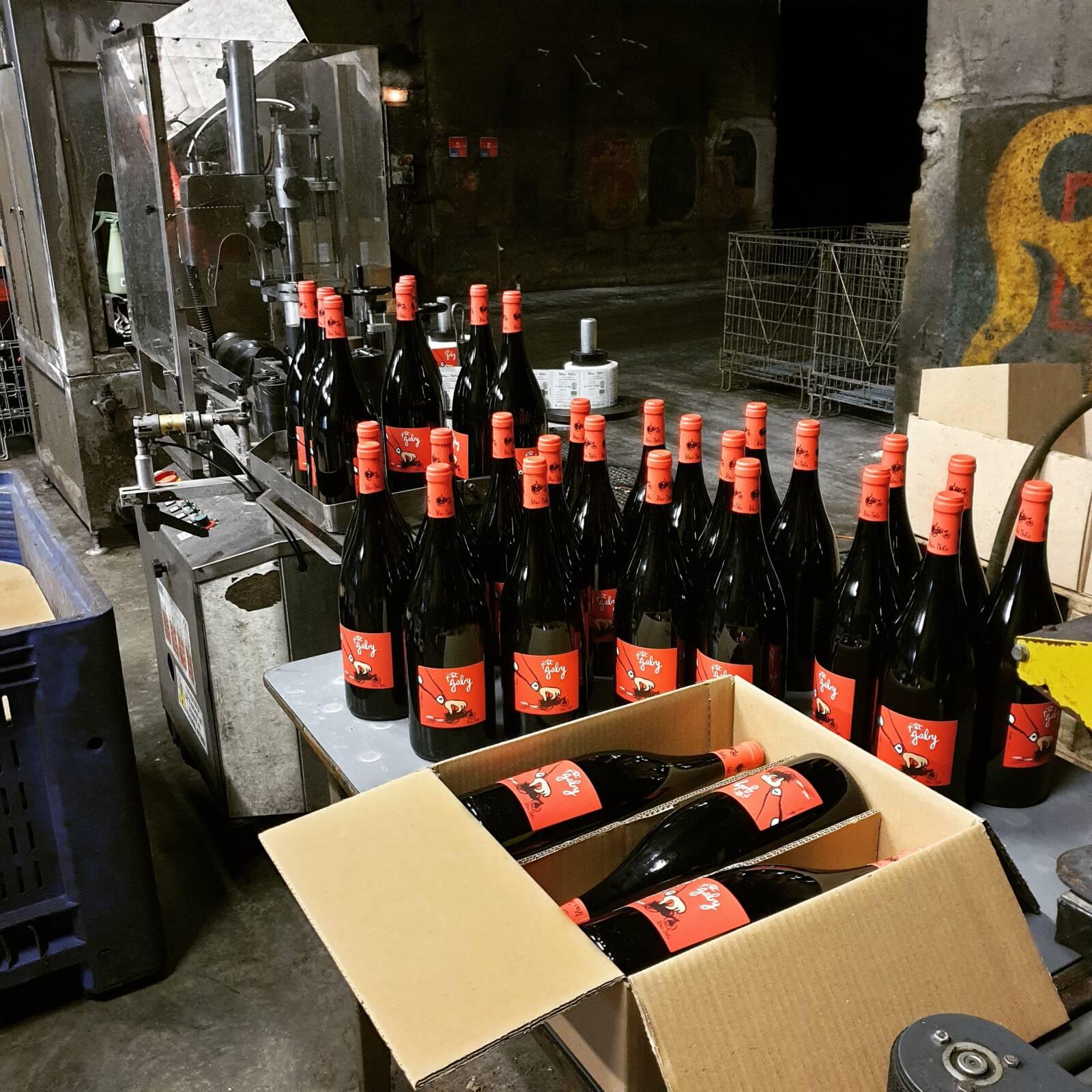 Etiquetage du vin
