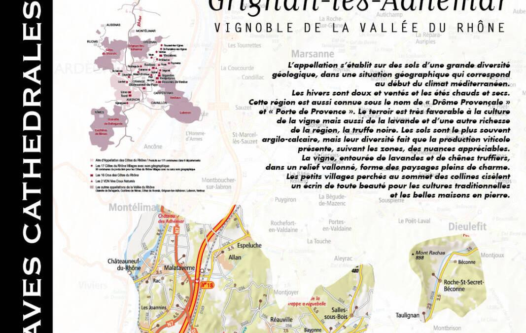 The Grignan-les-Adhémar appellation